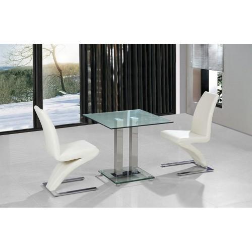 Ankara Small Dining Table Chrome
