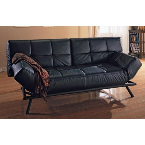 Anzio Sofa Bed PU Black