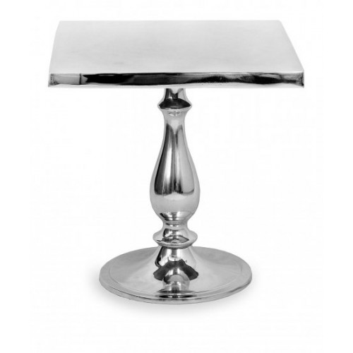 Aluminium Polished Table 15.5 inches Model A-6630