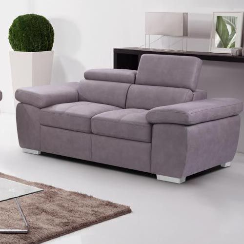 Amando Fabric 2 Seater Sofa Beige