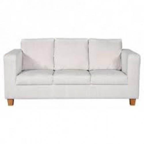 Amando Fabric 3 Seater Sofa Mushroom