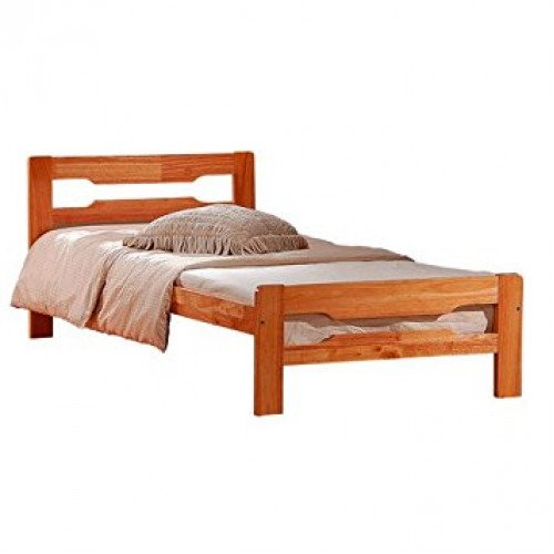 Amelia Solid Wood Single Bed Natural