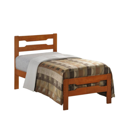 Amelia Solid Wood Single Bed Cherry