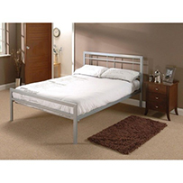 Brenington Double Bed Silver