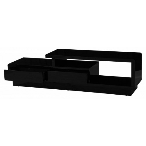 Abberly High Gloss TV Cabinet Black