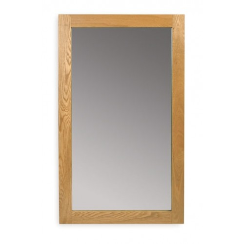 Hereford Oak Medium Mirror