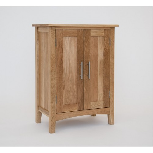 Hereford Oak Shoe Cabinet