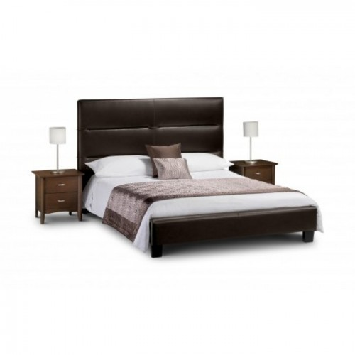 Elite High Bed 150cm Upholstered
