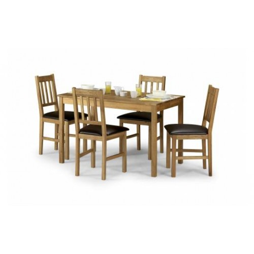 Coxmoor Oak Rectangular Dining Table Sets