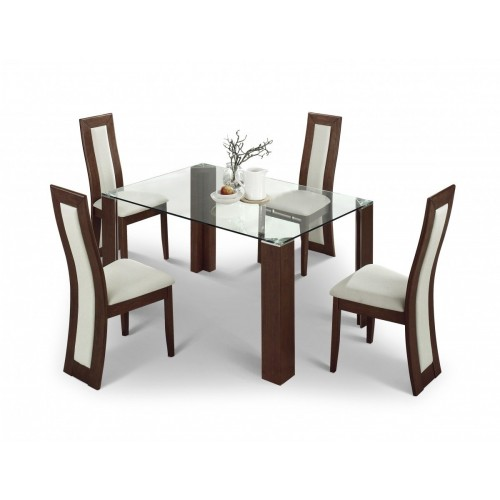 Mistral Dining Table Sets Walnut Finish