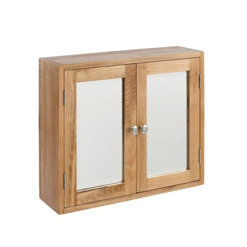 Lansdown Oak Double Bathroom Cabinet