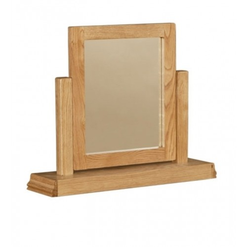 Normandy Oak Dressing Table Mirror