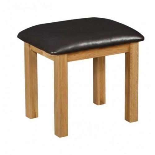 Normandy Oak Dressing Table Stool