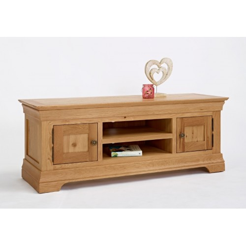 Normandy Oak Large/ Widescreen TV Unit