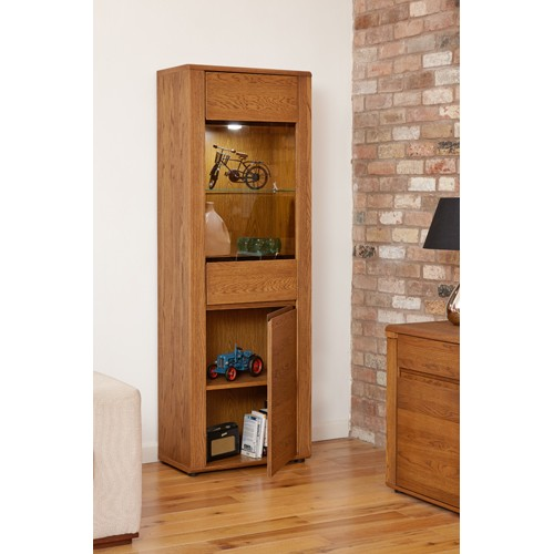 Olten - Tall Display Cabinet