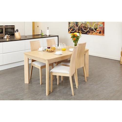 Olten Uno - Extending Dining Table in Light Oak Finish