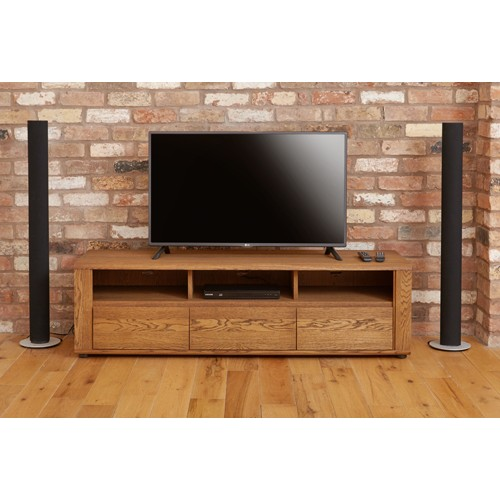 Olten - Widescreen TV Cabinet with Three Drawers