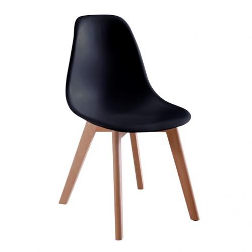 Aspen Plastic Chair 5, Black