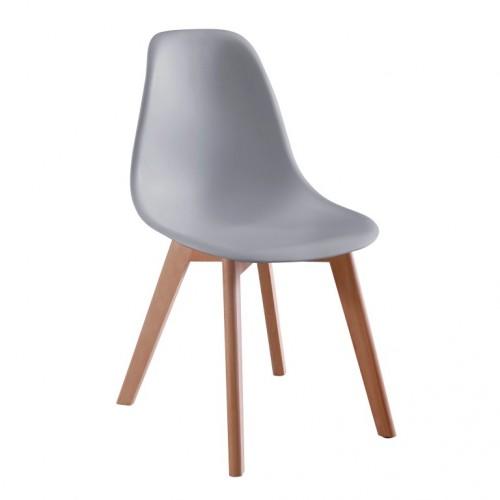 Aspen Plastic Chair 5, Grey