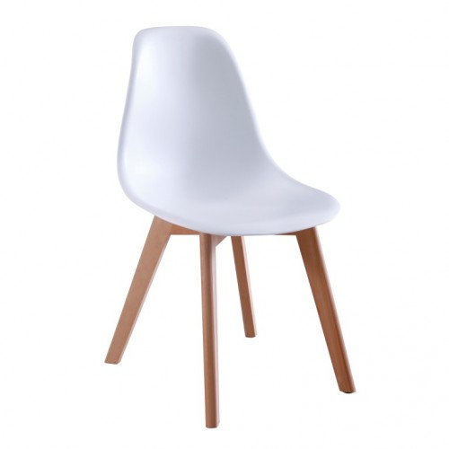 Aspen Plastic Chair 5, White