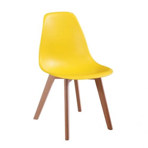 Aspen Plastic Chair 5, Yellow