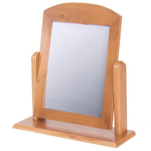 single mirror Edwardian pine