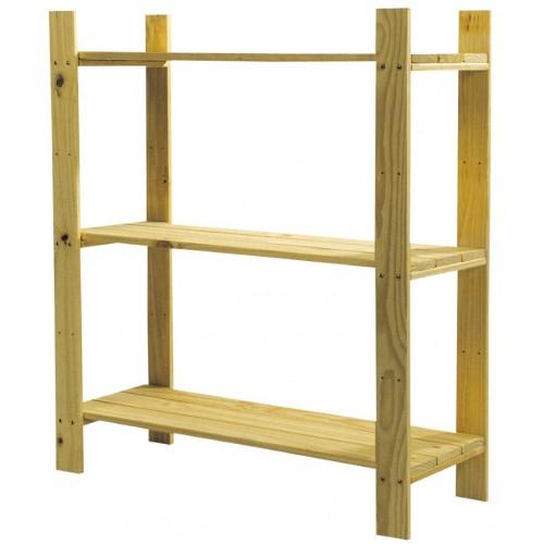 3 shelf slatted storage unit Home Ideas shelving and storage natural wood