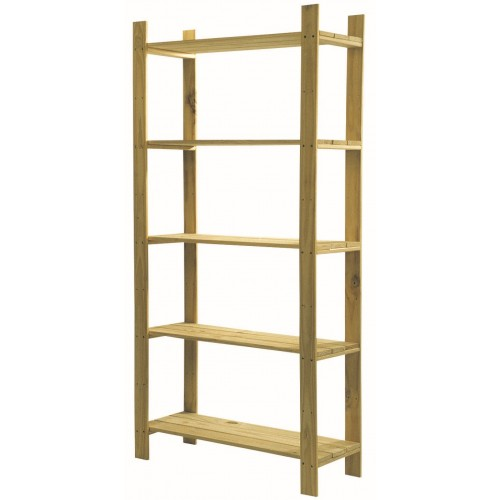 5 shelf narrow slatted storage unit Home Ideas shelving and storage natural wood