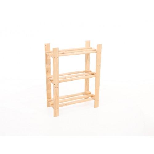 3 shelf narrow slatted storage unit Home Ideas shelf board natural wood