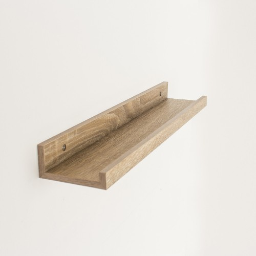 dura display shelf oak effect Shelf kit sets matt finish
