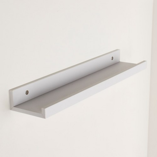 dura display shelf matt white Shelf kit sets matt finish