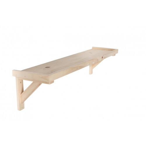 framed shelf kit Home Ideas shelving and storage natural wood