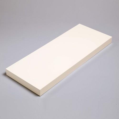 hudson box shelf kit gloss cream