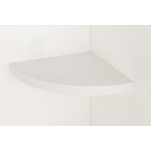 Hudson corner box shelf kit gloss white