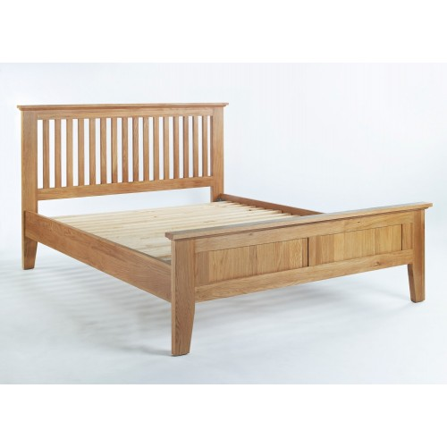 Sherwood Oak 4,6ft Bed