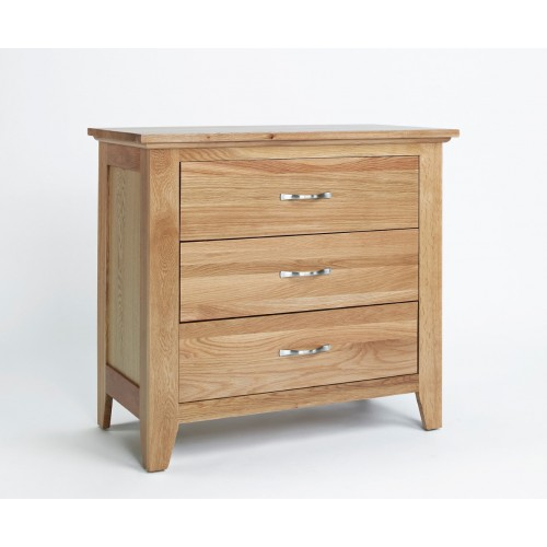 Sherwood Oak Chest 3 Drawer