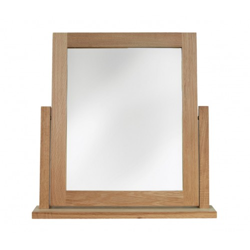 Sherwood Oak Dressing Table Swivel Mirror