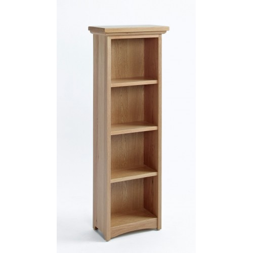 Sherwood Oak DVD/CD Cabinet With 3 Shelves