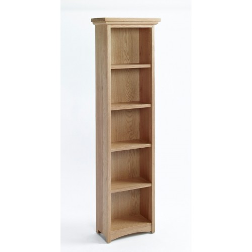 Sherwood Oak DVD/CD Cabinet With 4 Shelves