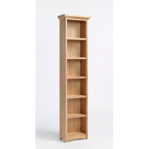 Sherwood Oak DVD/CD Cabinet With 5 Shelves
