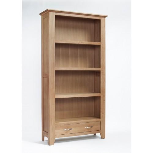 Sherwood Oak Large 1 Drawer Bookcase