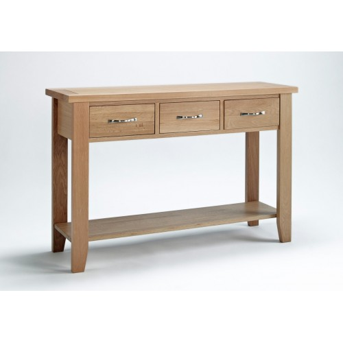Sherwood Oak Large Console Table