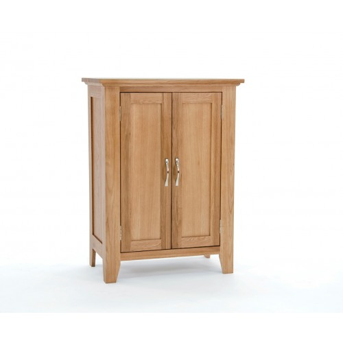 Sherwood Oak Shoe Cabinet
