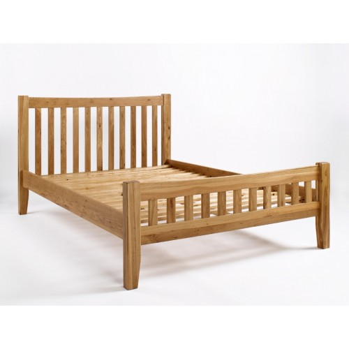 Westbury Oak 4'6 Bed