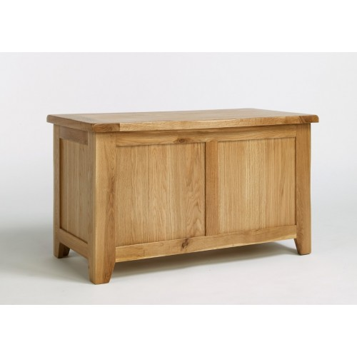 Westbury Oak Blanket Box