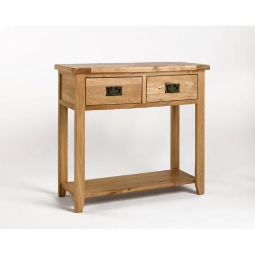 Westbury Oak Console Table