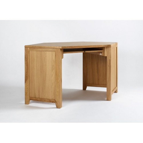 Westbury Oak Corner Desk Unit