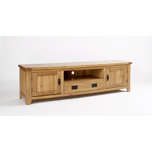 Westbury Oak Widescreen TV Cabinet