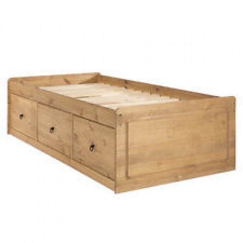 cabin bed corona premium waxed pine