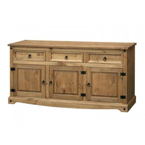 large sideboard corona premium waxed pine
